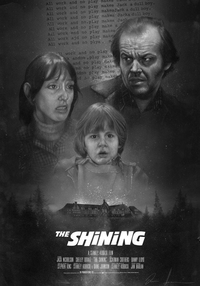 The Shining - Alternative Movie Poster V3